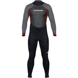 Hyperflex Wetsuits Men's Access 3/2mm Full Suit – (Red, X-Small)