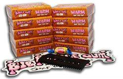 Bubble Gum Surf Wax 10 Pack Surfboard Wax (Warm, Bubble Gum Surf Wax 10 Pack)