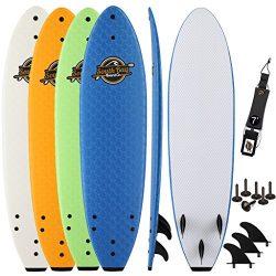 SBBC – 7' Soft Top Surfboard – || 7ft Ruccus || – Fun Performance Foam Surfboa ...