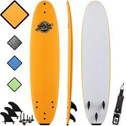 SBBC – 8' Soft Top Surfboard – || 8ft Verve || – Fun Performance Foam Surfboar ...