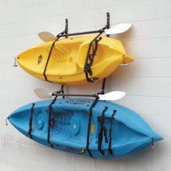 Webbing Boat Hanger Strap – Set of 2, kayak wall hanger, SUP wall hanger, kayak hanger, ca ...