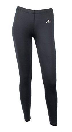 XPRIN A500 Series Women's Long Bottom Pants Base Layer Compression Sports Wear Rash Guard  ...