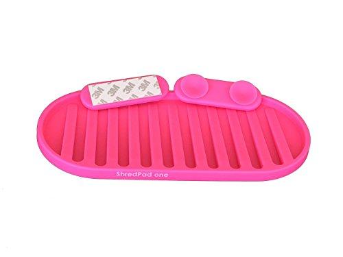 ShredPad Portable Board Stand (pink) – unique skateboard/longboard vertical wall rack & ...
