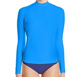 Paddle Board Accessories Loose Fit Swim Shirts For Women – Long Sleeve UV 50 + Sun Protect ...