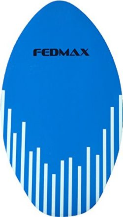 Fedmax Skimboard with High Gloss Coat | Blue, 30″ (Up to 120bs.) | Skim Board for Kids/Adults.