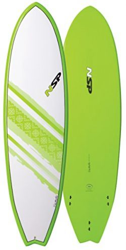 NSP Elements FISH Short Surfboard | Fins Included | All Around Design | Available in 6'4 6 ...
