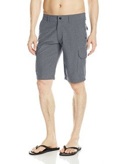 Fox Men's Slambozo Modern Fit Quick Dry Tech Cargo Short, Charcoal, 33