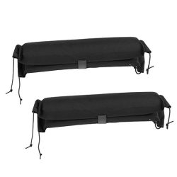 Baoblaze 1 Pair Soft Padded Car Roof Bar Rack Pads for Kayak/Canoe/Surfboard/Paddle Board/SUP/Wa ...