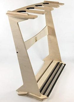 Freestanding Surfboard Display Rack (Holds 4 Boards)