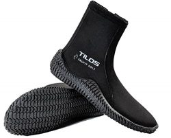 Tilos TruFit Dive Boots, First Truly Ergonomic Scuba Booties, Available in 3mm Short, 3mm Titani ...