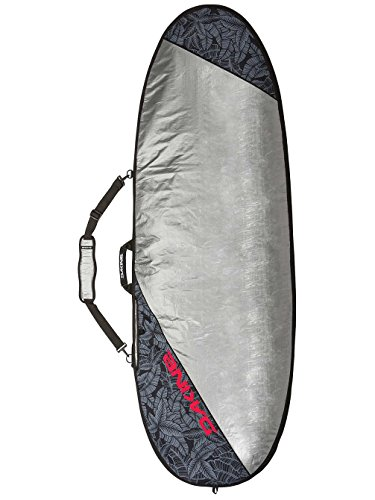 "Dakine Unisex Daylight 5'8"" Hybrid Surfboard Bag, Stencil Palm, One Size"