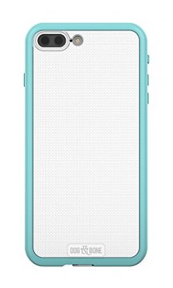 Dog & Bone Wetsuit – Topless, Waterproof iPhone 7 Plus Case – Oceana Blue