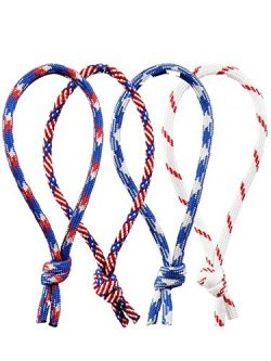 4-Pack Pro Tour Quality Leash String Cord for Surfboard, Longboard and SUP by Island Chains