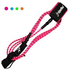 Surfboards 6ft 7ft 8ft Leash Premium SUP Stand Up Paddle Board Leg rope with Blue Pink Orange Gr ...