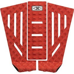 Ocean and Earth Shacked Red Surfboard Traction Pad – 3 Piece