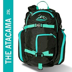 FE Active 29L Atacama Traveling Hiking Camping Backpack Light Weight Waterproof Dry Bag Divider  ...