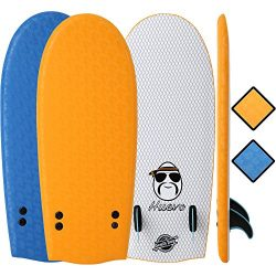 "SBBC – Soft Top Surfboard – || 48"" Huevo Surf Board 