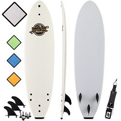 SBBC – 7' Soft Top Surfboard – || 7ft Ruccus || – Fun Performance Foam Surfboa ...