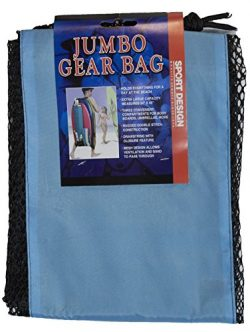 Jumbo Mesh Beach Gear Body Board Carrying Bag 24 by 45 Inch Capacity (Lt. Blue)