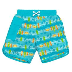 i play. Baby Toddler Boys' Pocket Board Shorts w/Built-in Reusable Absorbent Swim Diaper,  ...