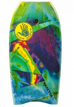 Body Glove 16512 Reactor Body Board, Green, 41″