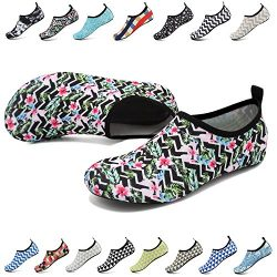 EASTSURE Snorkeling Shoes Water Sport Shoes Aqua Socks Men Women Beach Swim Surf Yoga
