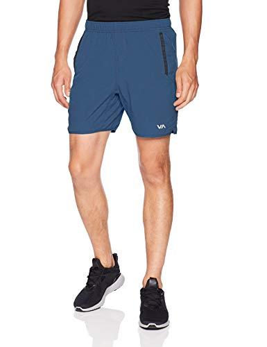 RVCA Men's Yogger Short, Seattle Blue, XL