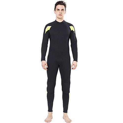 Dark Lightning Mens 3mm Full Suit Wetsuit for Scuba Diving ... d4b7f8f97