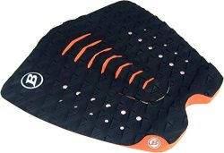 BLOCK SURF USA surfboard FISH BIG BOARD WIDE TAIL traction tail pad stomp pad 3 piece 7MM ARCH N ...
