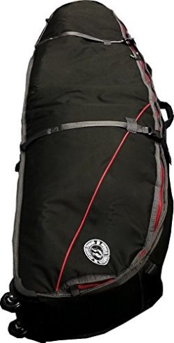 Triple Shortboard Surf Travel Bag | Wheeled Surfboard Coffin 6'6″ to 7'6″ ...