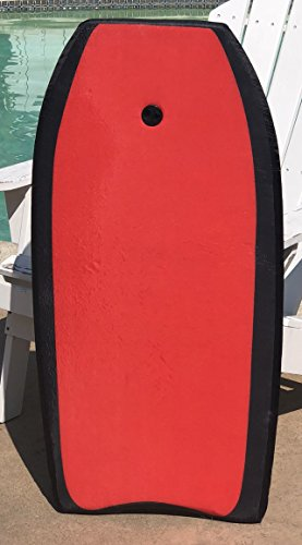 PrimeOneOnline #1 Super Lightweight Bodyboard Perfect for Surfing, at the Lake and around the Po ...