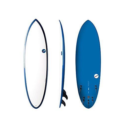 NSP Elements Hybrid Short Surfboard   Fins Included   All Around Design   Available in 5'9 ...