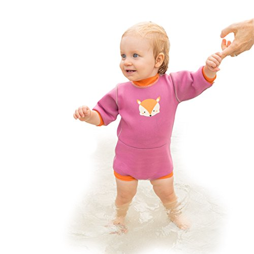 Active Nature Baby Neoprene Wetsuit UV Protected Swimwear Swim Diaper with Dry Bag (Large 18/24  ...