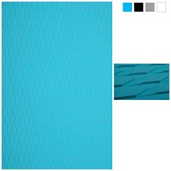 ABAHUB Non-Slip 2 pcs Traction Pad Deck Grip Mat 30in x 20in Trimmable EVA Sheet 3M Adhesive for ...