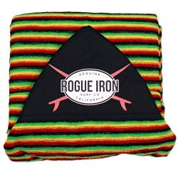 Rogue Iron Sports Surf Sock (Rasta, 6'6″)