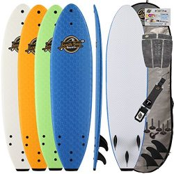 Gold Coast Surfboards | Soft Top Surfboard | 7' Ruccus Surf Board | Fun Performance Foam Surf Bo ...