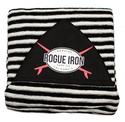 Rogue Iron Sports Surf Sock (White Black, 6′)