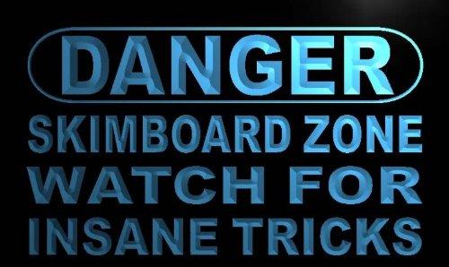 Danger Skim board Zone LED Sign Neon Light Sign Display m667-b(c)